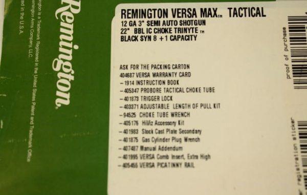 Remington Versa Max