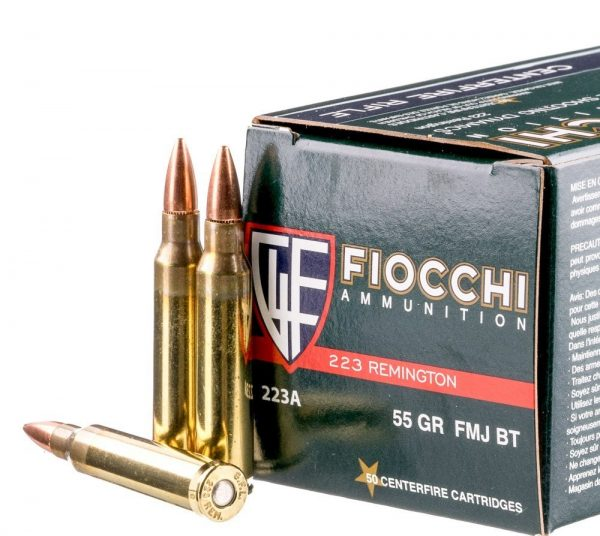 .223 Ammo by Fiocchi