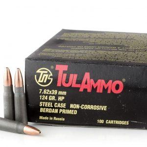 7.62x39mm Ammo by Tula