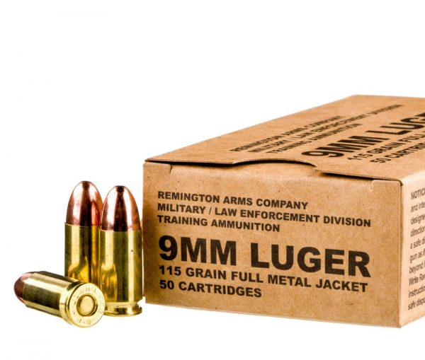 9mm Ammo by Remington