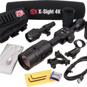 ATN X-Sight 4K Pro Edition 5-20x Smart HD Day/Night Riflescope, Color: Black