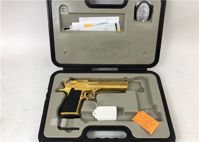 Magnum Research Desert Eagle 357 mag Gold