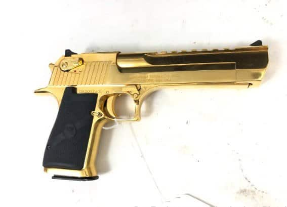 Magnum Research Desert Eagle 357 mag Gold